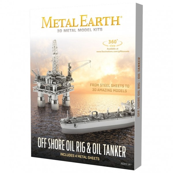 Offshore Oil Rig & Tanker in Box