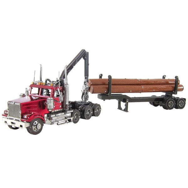 ICONX Western Star 4900 Log Truck & Trailer