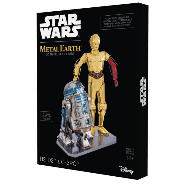 STAR WARS Set C-3PO + R2D2 in Geschenkbox