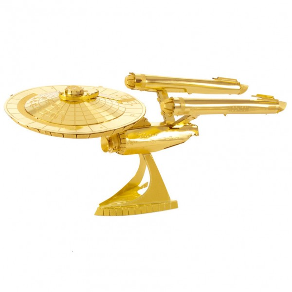 Star Trek NCC-1701 USS Enterprise Gold